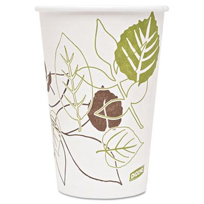 Dixie 2346PATH Pathways Paper Hot Cups