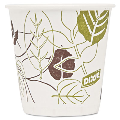 Dixie 45PATH Pathways Wax Treated Paper Cold Cups