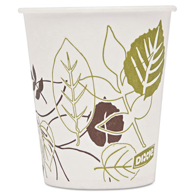 Dixie 58WS Pathways Wax Treated Paper Cold Cups