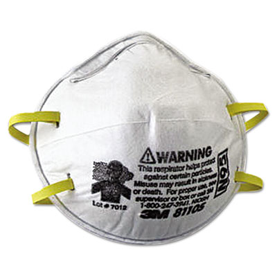 3M N95 Particulate Respirator 8110S