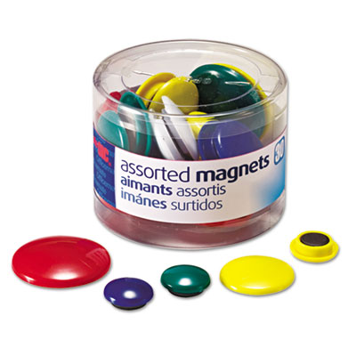 Officemate 92500 Assorted Magnets