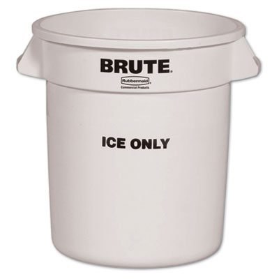 Rubbermaid 9F86WHI Commercial Brute Ice-Only Container