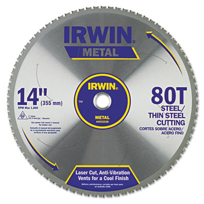 IRWIN Metal Cutting Circular Saw Blade 4935559