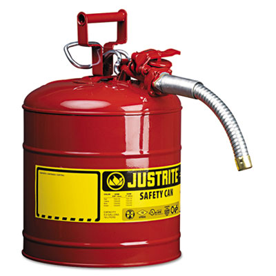 JUSTRITE 7250130 AccuFlow Safety Can