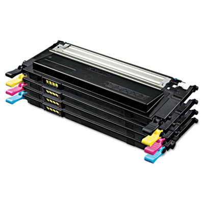 Samsung CLT-P409C Black Cyan Magenta Yellow Toner Cartridge