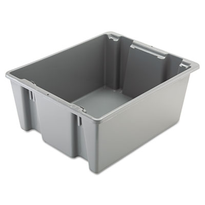 Rubbermaid 1731GRA Commercial Palletote Box