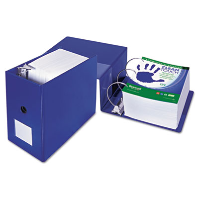 Samsill 16322 Clean Touch Heavy-Duty Locking D-Ring Antimicrobial Protected Reference Binder