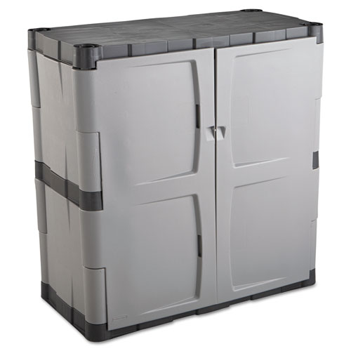 Rubbermaid 7085 Double Door Storage Cabinet