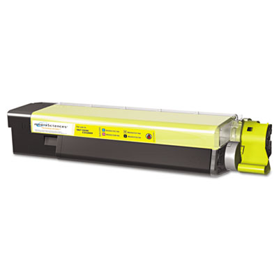 Media Sciences 40036 Yellow Toner Cartridge