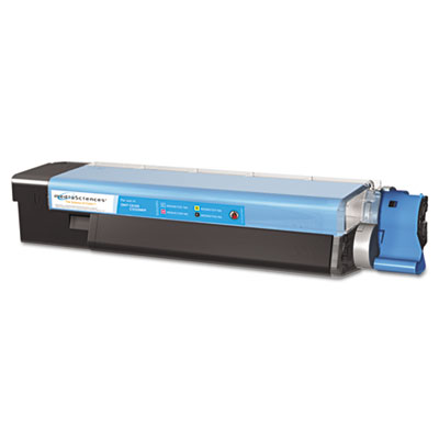 Media Sciences 40034 Cyan Toner Cartridge