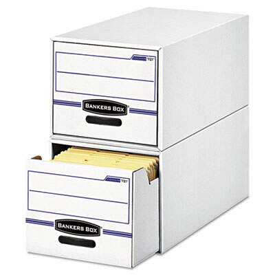 Fellowes 00721 Bankers Box STOR/DRAWER Basic Space-Savings Storage Drawers