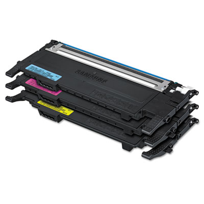 Samsung CLTP407A Cyan Magenta Yellow Toner Cartridge