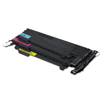 Samsung CLTP407C Black Cyan Magenta Yellow Toner Cartridge