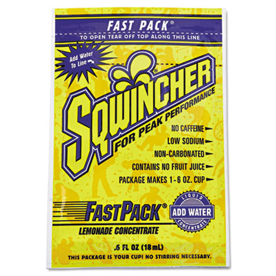 Sqwincher 015303LA Fast Pack Concentrated Activity Drink