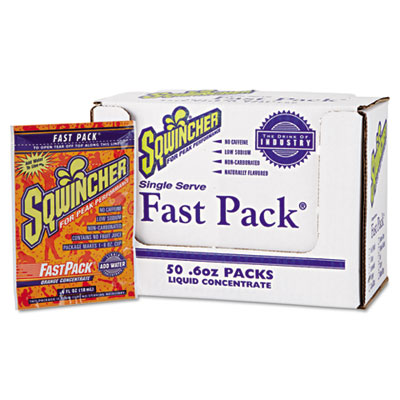 Sqwincher 015304OR Fast Pack Concentrated Activity Drink