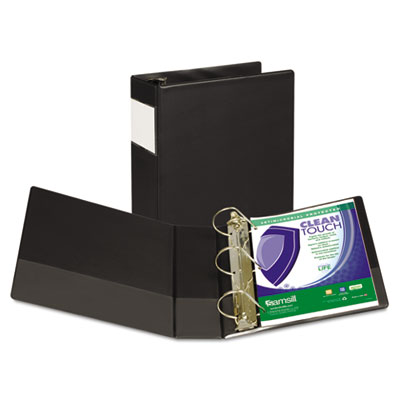Samsill 16390 Clean Touch Heavy-Duty Locking D-Ring Antimicrobial Protected Reference Binder