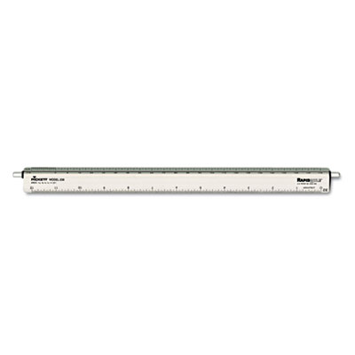Chartpak 238 Adjustable Triangular Scale for Architects
