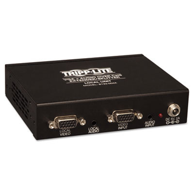 Tripp Lite B132004A2 Four-Port VGA Plus Audio Over CAT5 Transmitter