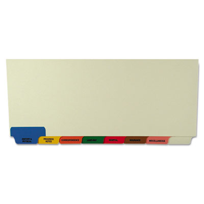 Tabbies 54500 Medical Chart Divider Sets