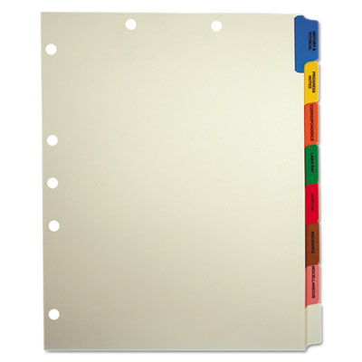 Tabbies 54505 Medical Chart Divider Sets