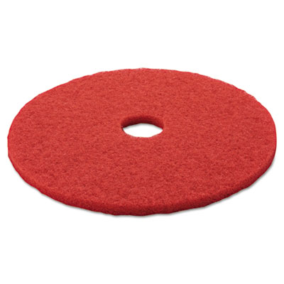 3M 08395 Red Buffer Floor Pads 5100