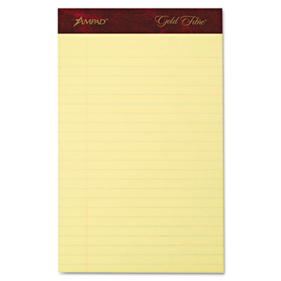 Ampad 20029 Gold Fibre 20-lb. Watermarked Writing Pads