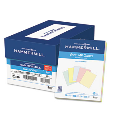 Hammermill 102120 Recycled Colored Paper