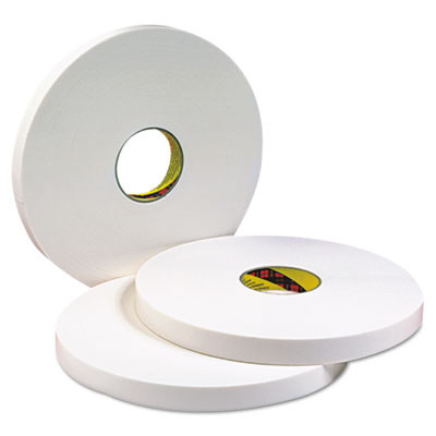 3M 2120006455 Double Coated Urethane Foam Tape 4016 021200-06455