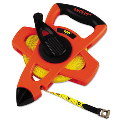 Lufkin FE100 Engineers Hi-Viz Fiberglass Measuring Tape