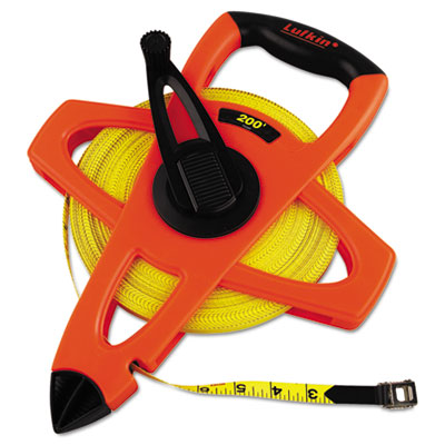 Lufkin FE200 Engineers Hi-Viz Fiberglass Measuring Tape