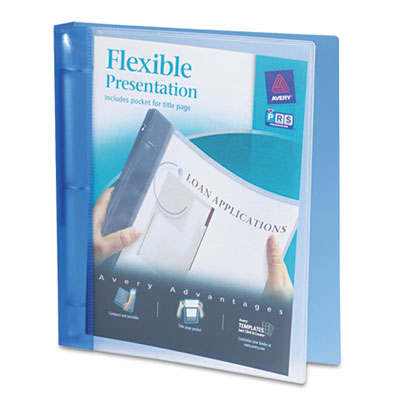 Avery 17675 Flexible View Binder with Round Rings