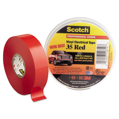3M 10810 Scotch 35 Vinyl Electrical Color Coding Tape