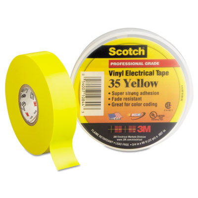 3M 10844 Scotch 35 Vinyl Electrical Color Coding Tape