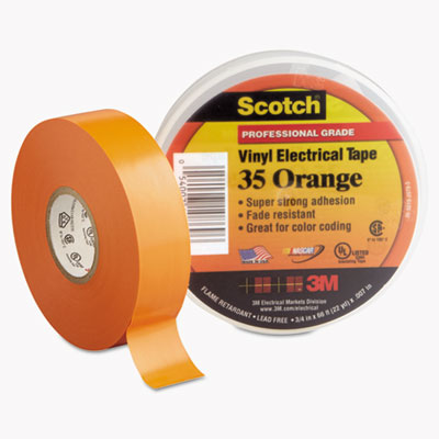 3M 10869 Scotch 35 Vinyl Electrical Color Coding Tape