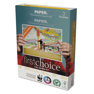 Domtar 85283 First Choice ColorPrint Premium Paper