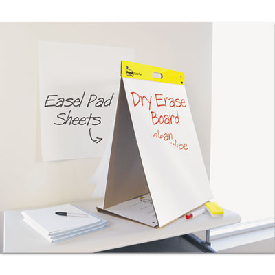 3M 563DE Post-it Easel Pads Self-Stick Tabletop Easel Pad