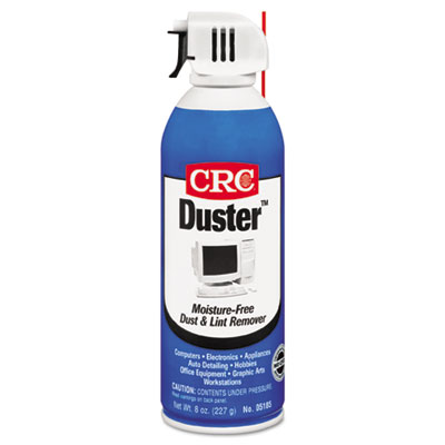 CRC Duster Moisture-Free Dust and Lint Remover 05185