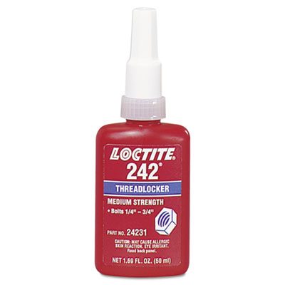 Loctite Corp Loctite 242 Threadlocker Medium-Strength 24231