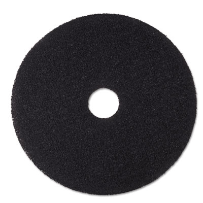 3M 08381 Black Stripper Floor Pads 7200
