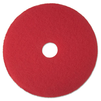 3M 08387 Red Buffer Floor Pads 5100