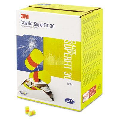 3M 3101009 E-A-R Classic SuperFit 33 Foam Earplugs 310-1009