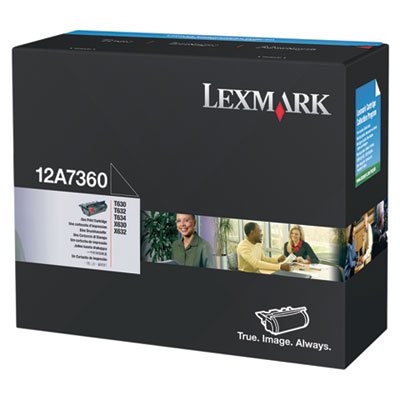 Lexmark 12A7360 Black Toner Cartridge