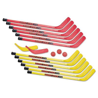 Champion Sports HS36SET Rhino Stick Hockey Set