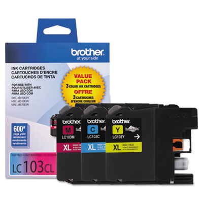 Brother LC1033PKS Yellow Ink Cartridge