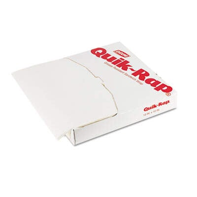 Dixie 891258 Quik-Rap Grease-Resistant Sandwich Paper