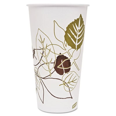 Dixie 328PPATH Pathways Polycoated Paper Cold Cups