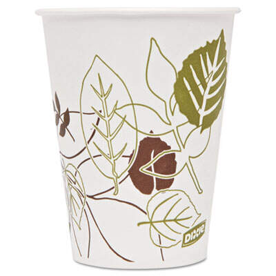 Dixie 9PPATH Pathways Polycoated Paper Cold Cups