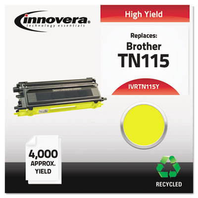 Innovera TN115Y Yellow Toner Cartridge
