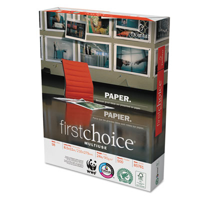 Weyerhaeuser Paper 85761 Domtar First Choice MultiUse Premium Paper