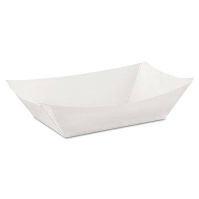 Dixie KL300W8 Kant Leek Polycoated Paper Food Tray